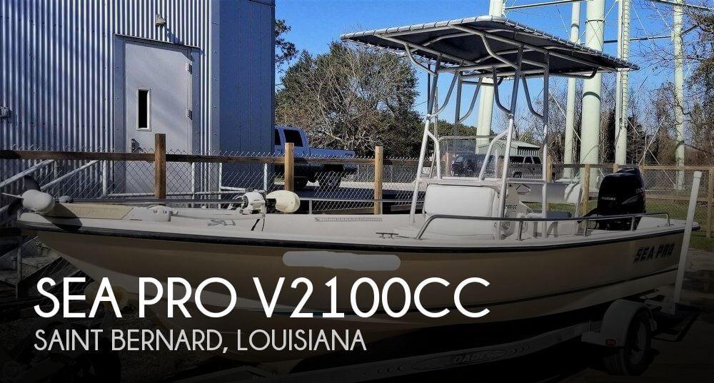 1998 Sea Pro V2100CC