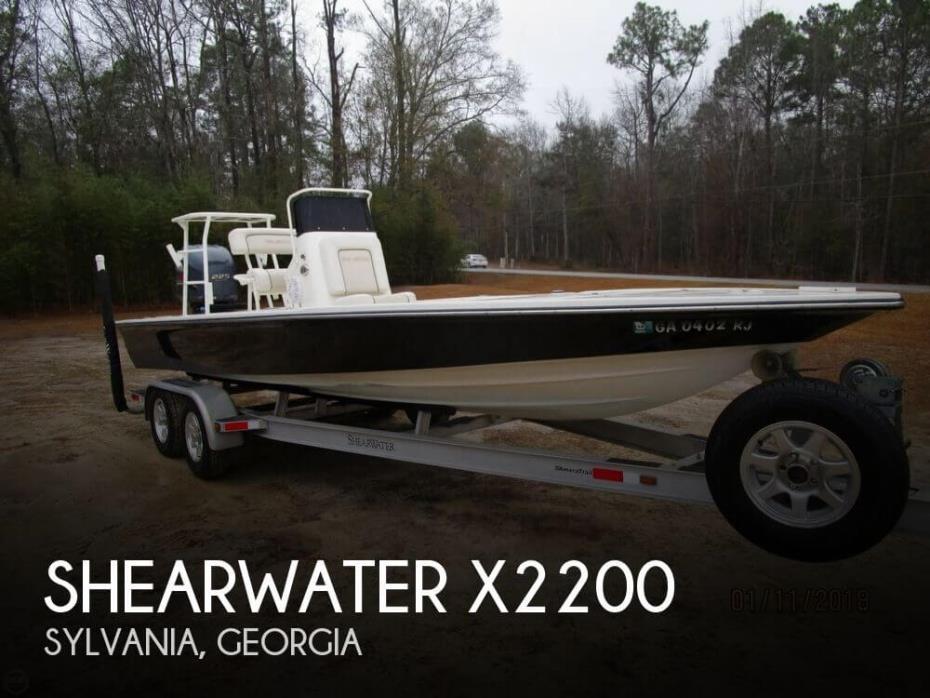 2010 Shearwater X2200