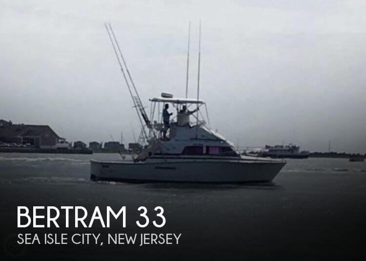 1983 Bertram 33 SF