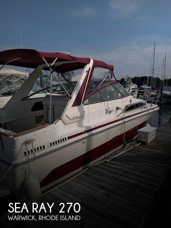 1986 Sea Ray Sundancer 270