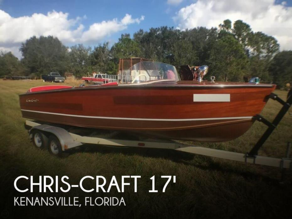1958 Chris-Craft Sportsman 17
