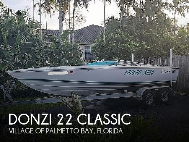 1995 Donzi 22 Classic
