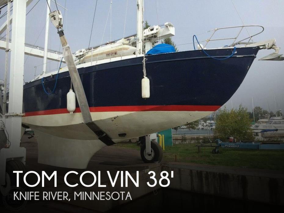 1964 Tom Colvin 38 Blue Water
