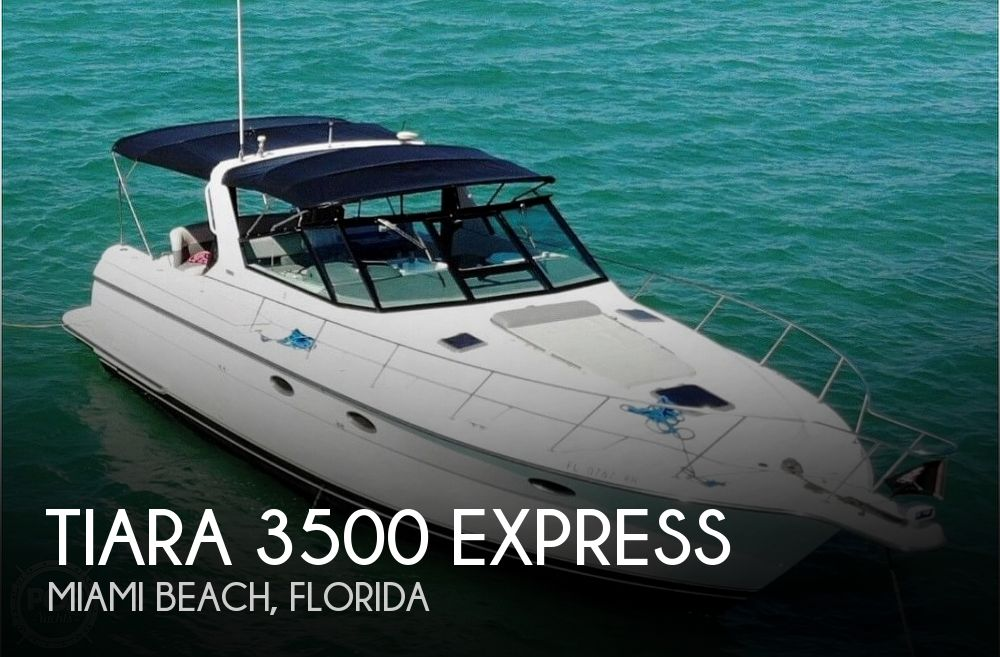 1999 Tiara 3500 Express