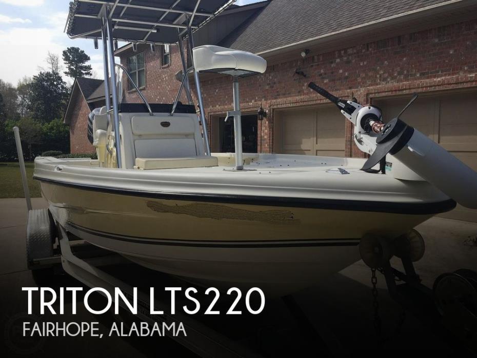2006 Triton 220 LTS
