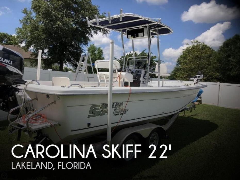 2007 Carolina Skiff 218DLV