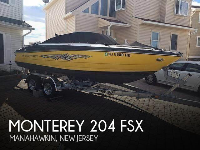 2012 Monterey 204 FSX