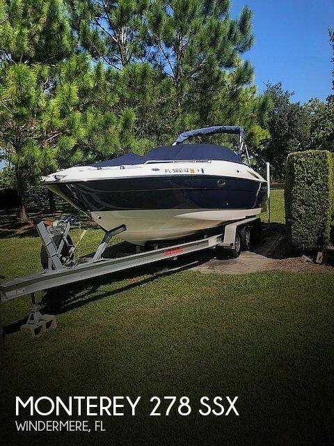 2009 Monterey 278 SSX