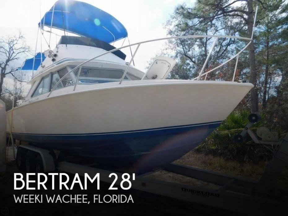 1978 Bertram 28 Sport Fisherman