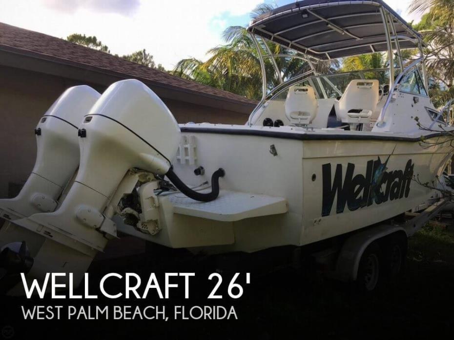 1990 Wellcraft 2600 Coastal