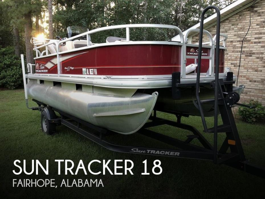 2018 Sun Tracker Bass Buggy 18