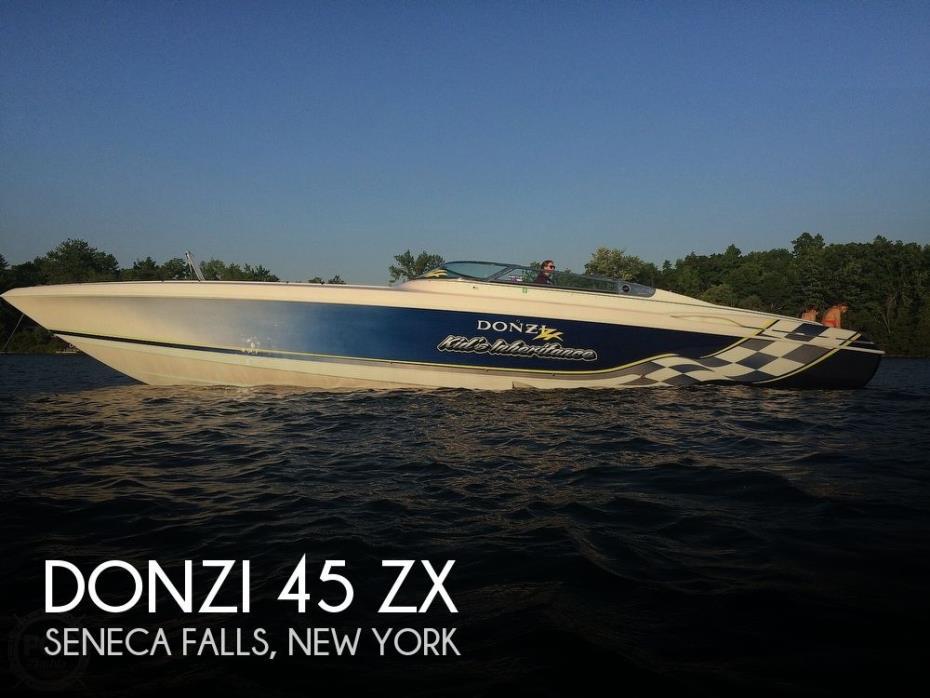2001 Donzi 45 ZX