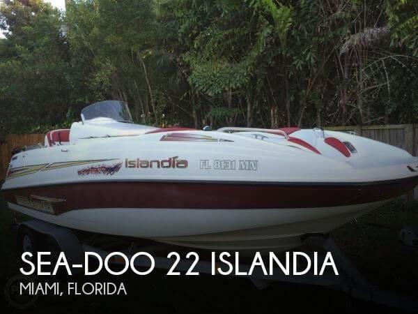 2003 Sea-Doo 22 Islandia