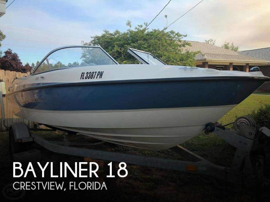 2012 Bayliner 185 Bowrider