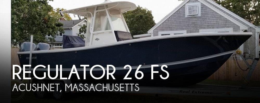 2005 Regulator Marine 26 FS