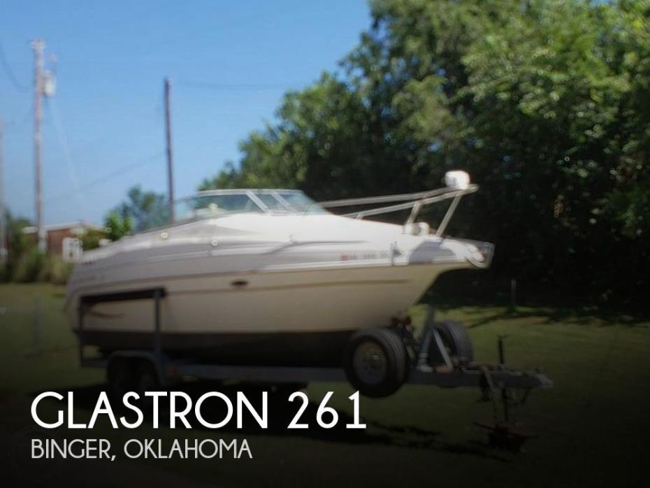 2002 Glastron 261