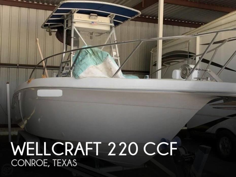 1997 Wellcraft 220 CCF