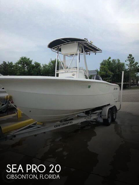 2006 Sea Pro 206 CC