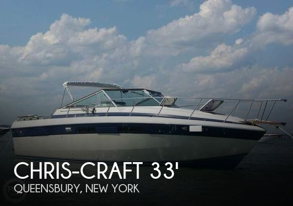 1984 Chris-Craft 332 Commander