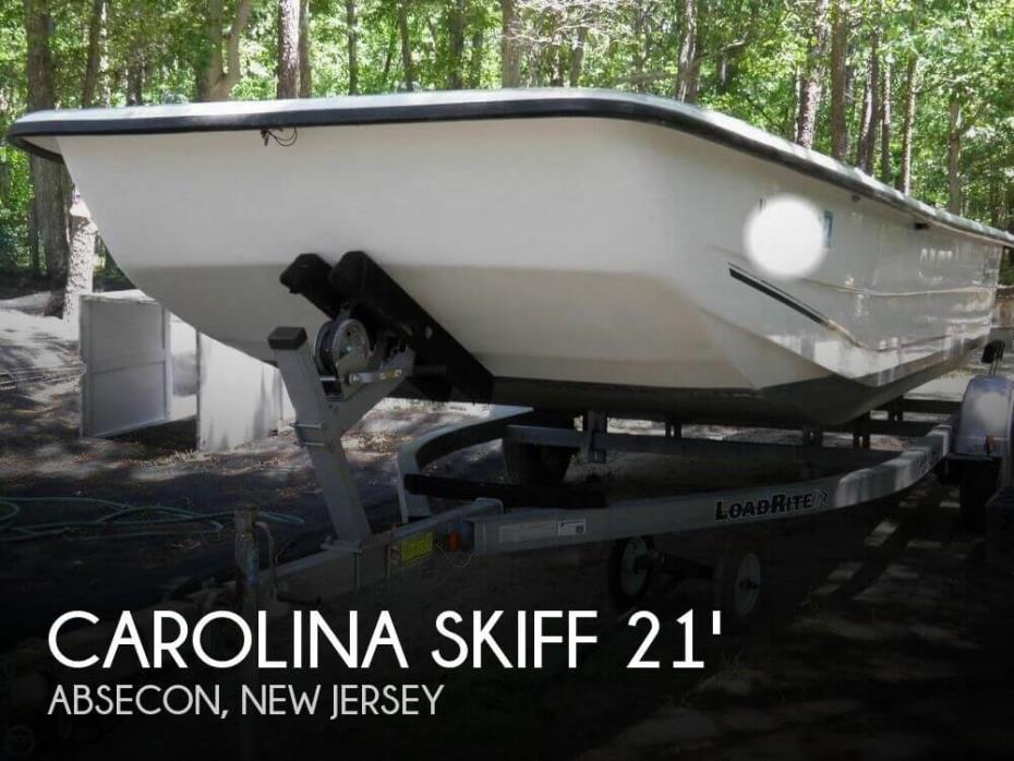 2011 Carolina Skiff DLX 2180