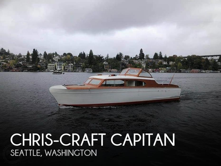 1952 Chris-Craft El Capitan