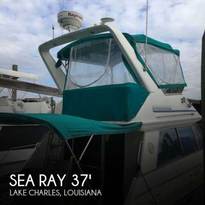 1992 Sea Ray 370 Sedan Bridge