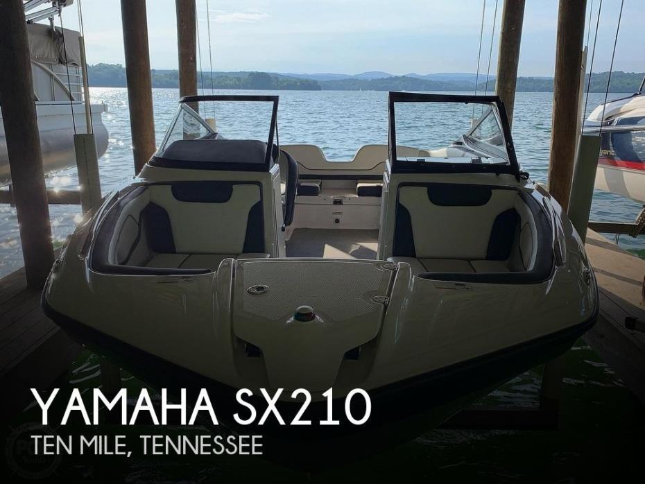 2017 Yamaha SX210