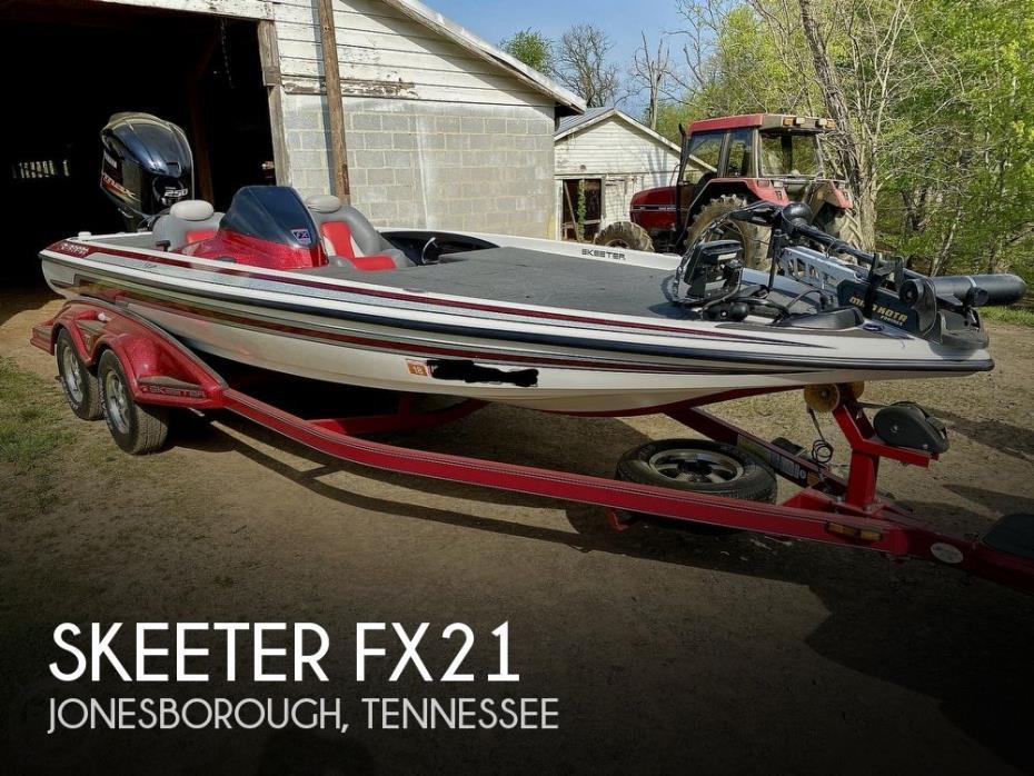 2011 Skeeter FX21