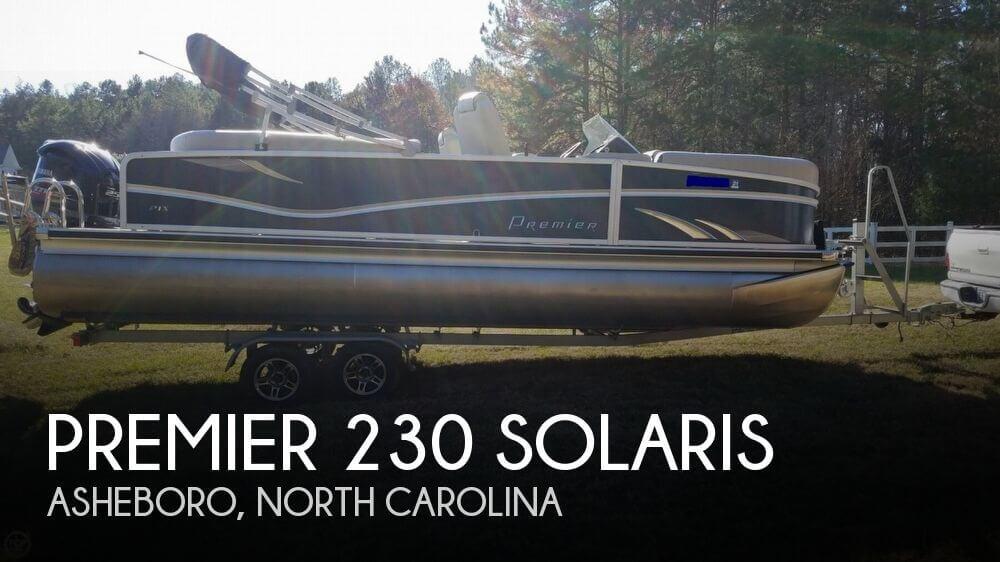 2017 Premier Pontoons 230 Solaris