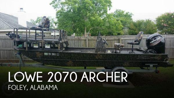 2017 Lowe 2070 Archer