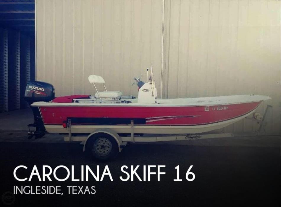 2015 Carolina Skiff 16