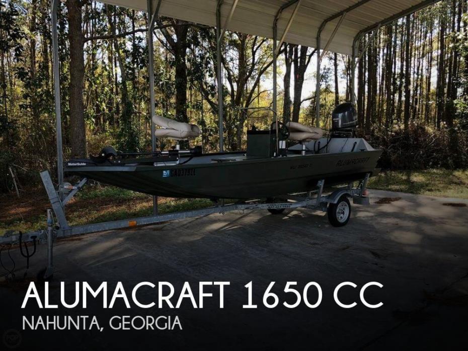 2014 Alumacraft 1650 Cc