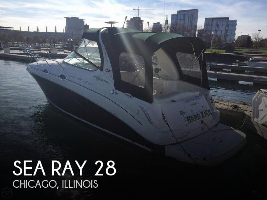 2004 Sea Ray 28
