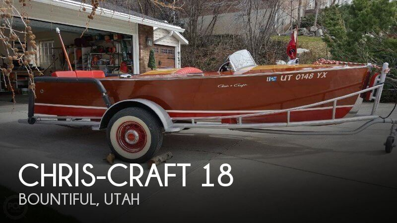 1948 Chris-Craft 18 Runabout