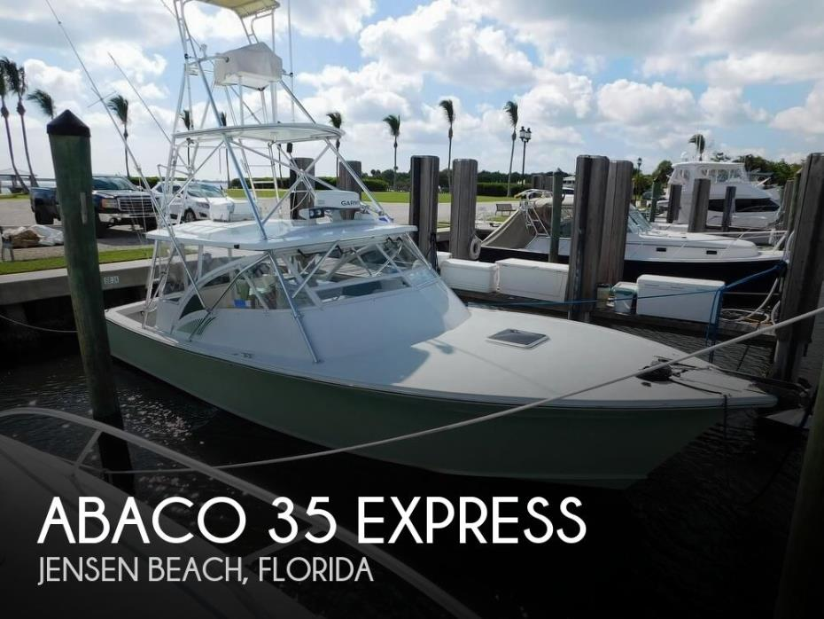 2002 Abaco 35 Express