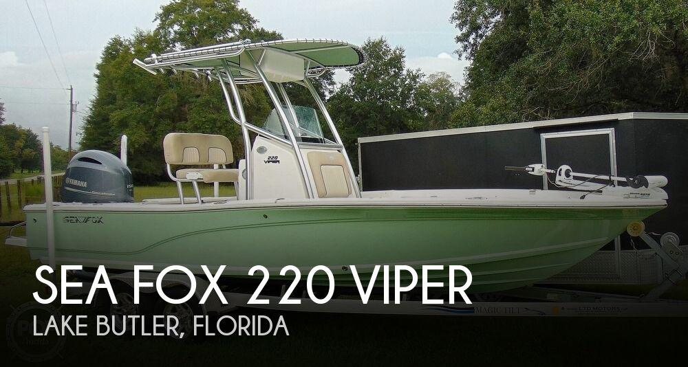 2016 Sea Fox 220 Viper
