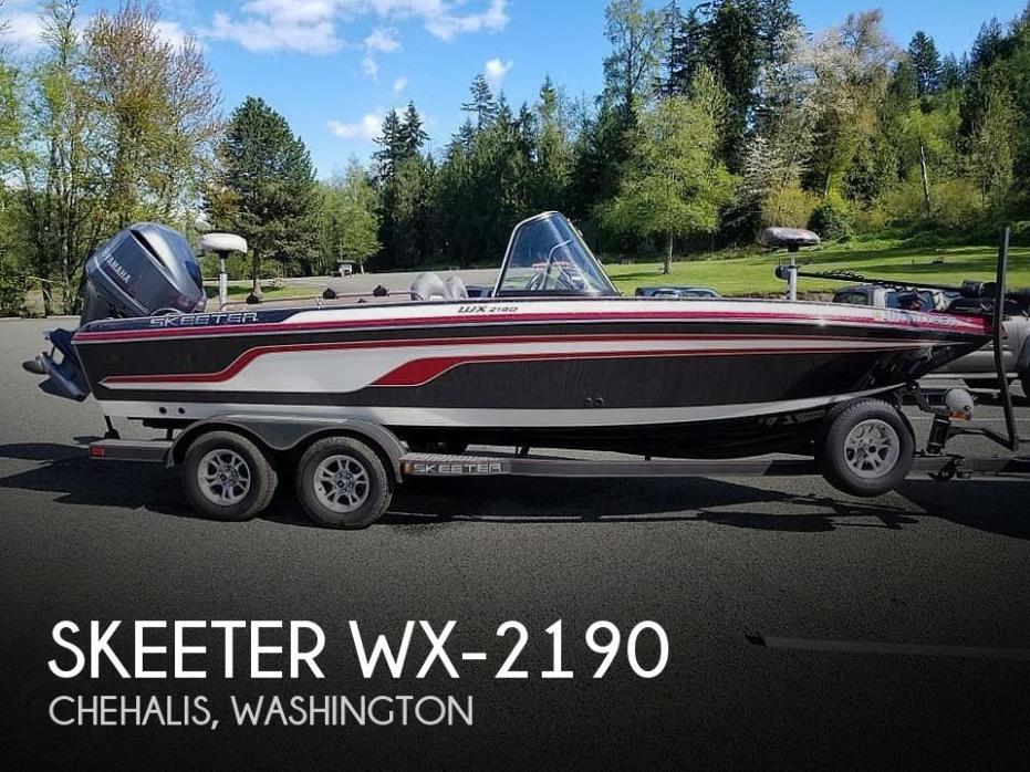 2017 Skeeter Wx-2190
