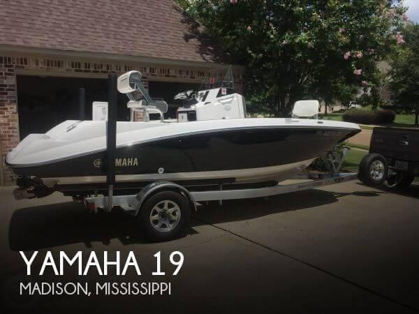 2017 Yamaha 190FSH Deluxe