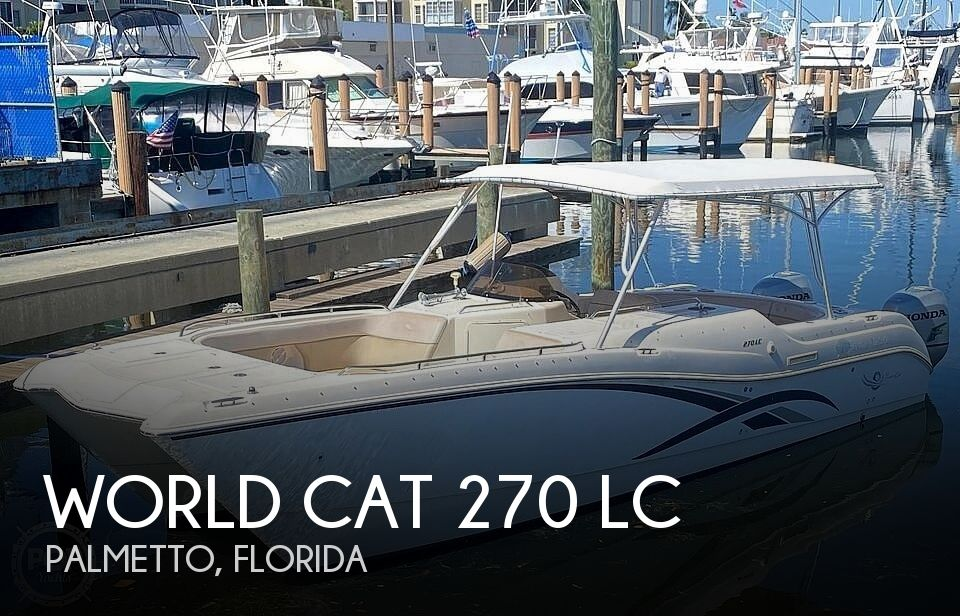 2002 World Cat 270 LC