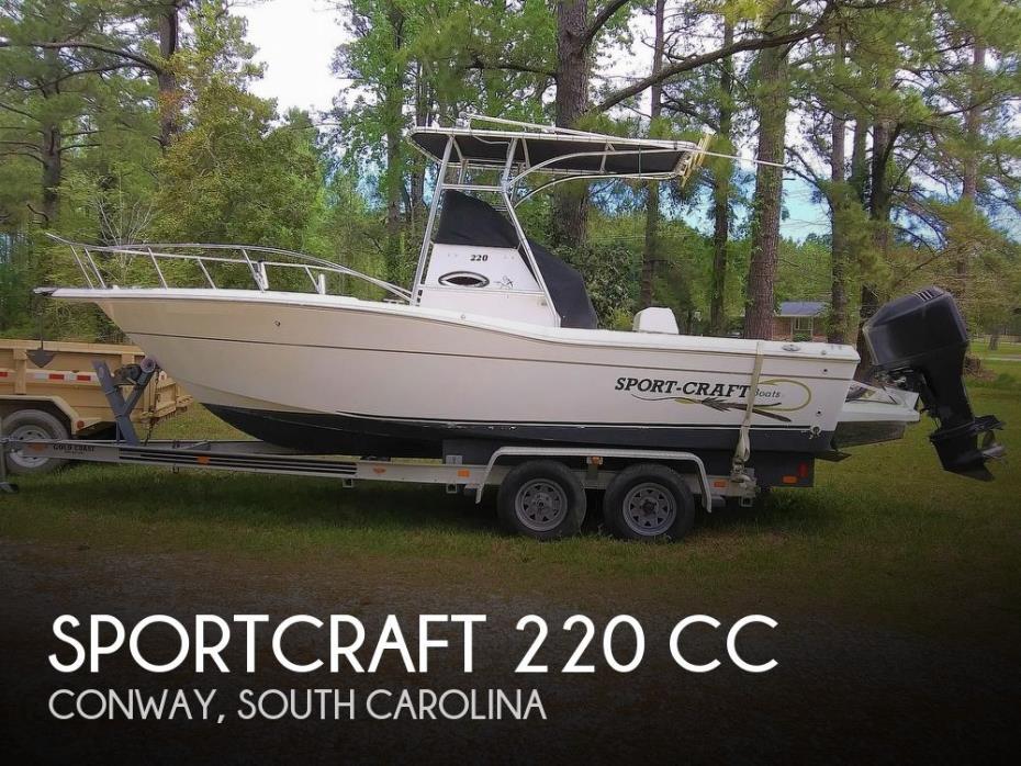 2000 Sportcraft 220 CC