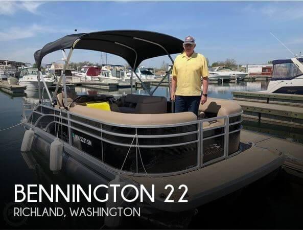 2018 Bennington 22 SSBXPDI SWING BACK