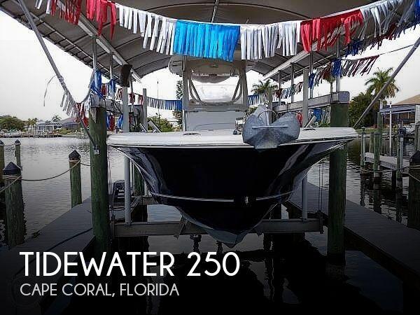 2013 Tidewater 250 CC Adventure