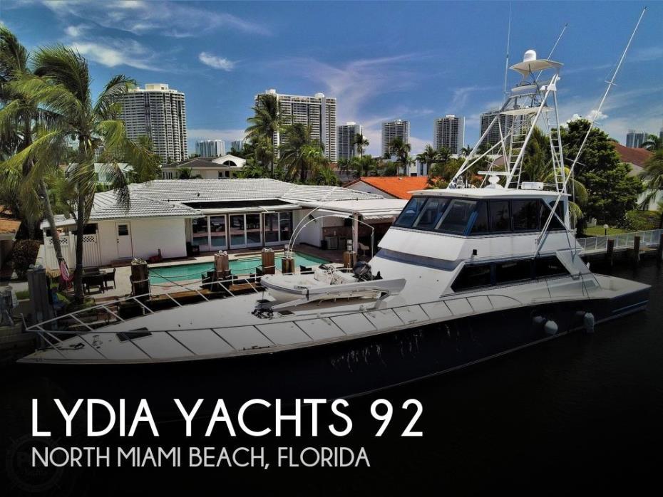 1992 Lydia Yachts 92 Sportfisher