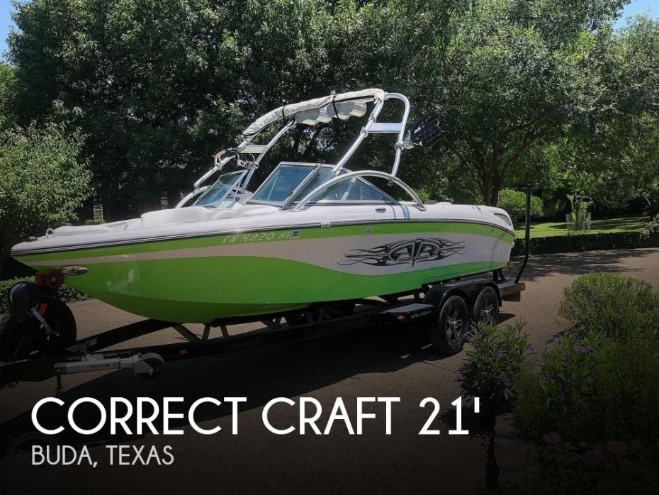 2007 Correct Craft Air Nautique SV-211 Team Edition