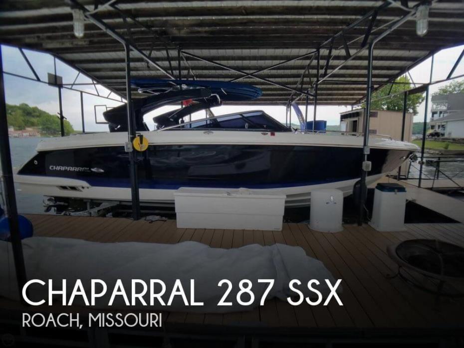 2017 Chaparral 287 SSX
