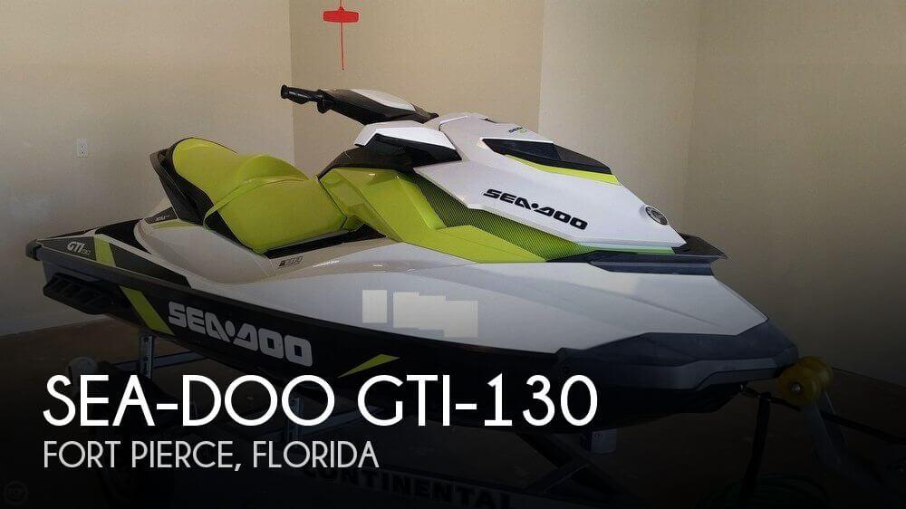 2016 Sea-Doo GTI-130