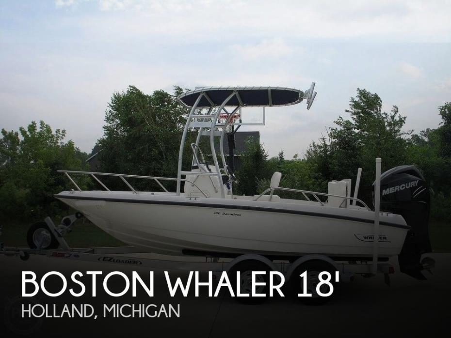 2012 Boston Whaler 180 Dauntless