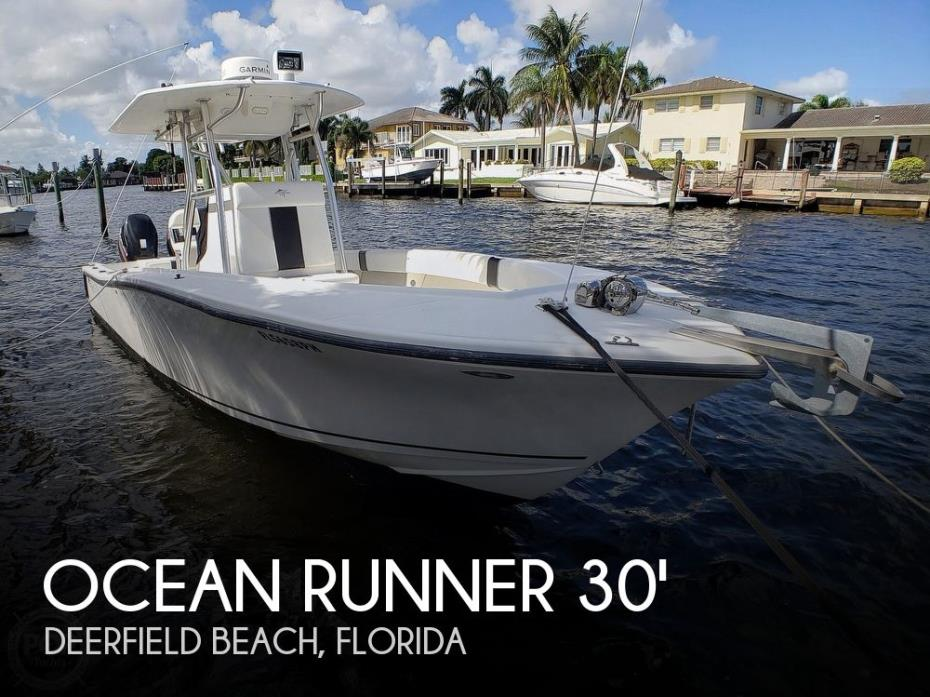 2012 Ocean Runner 29 Center Console