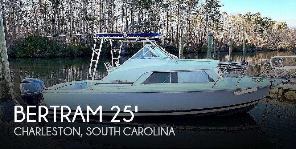 1970 Bertram 25' Cabin Cruiser
