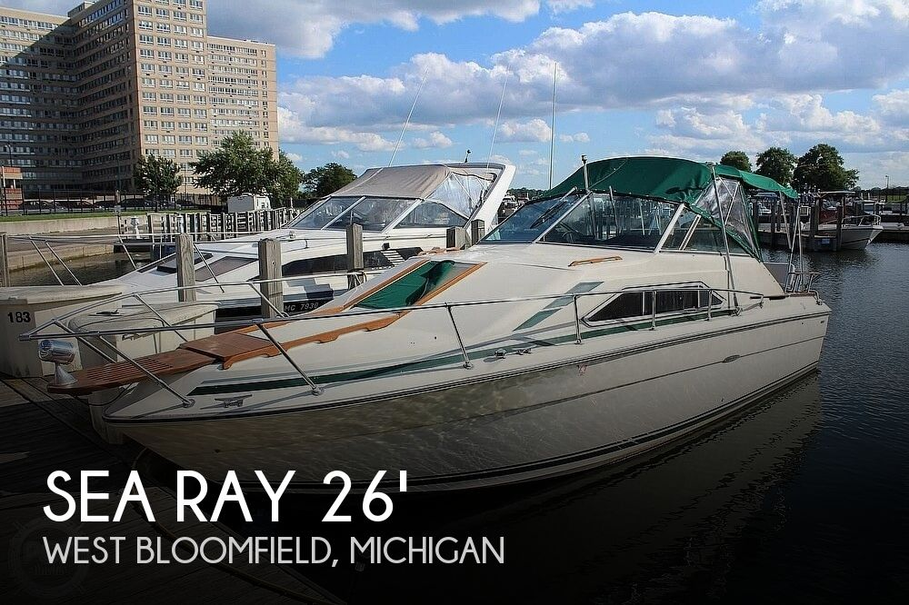 1980 Sea Ray Sundancer 260 SRV